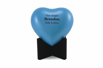 Arielle Blue Heart