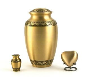 Athena Bronze Urn