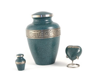 Avalon Evening Blue Urn