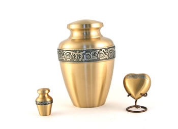 Avalon Bronze Urn