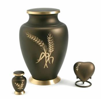 Aria Series Urn Wheat