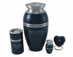 Legacy Blue Urn