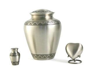 Athena Pewter Elite Urn