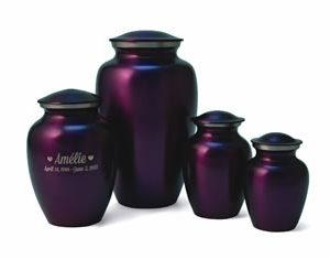 Classic Violet Urn