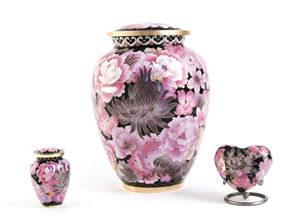 Floral Blush Elite Urn