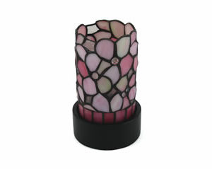 Pink Floral Lamp