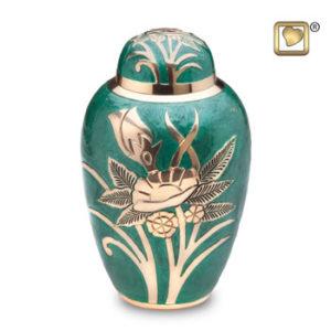 Rose emerald large urn