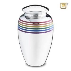 Large rainbow urn