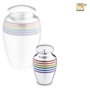 rainbow keepsake urn