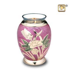 Tealight Rose Lilac
