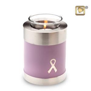 Awareness pink tealight
