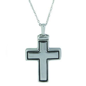 Large Cross Ash Pendant (chain included) (2)