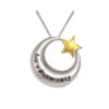 Just a dream away Ash Pendant (chain included) (M)