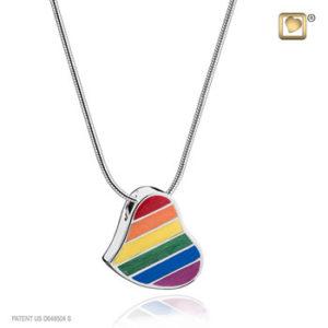 Rainbow Ash Pendant