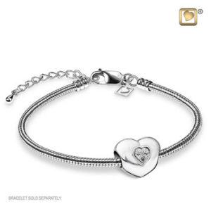 Treasure Heart to Heart Bead