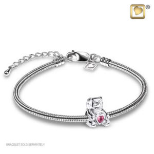 Treasure Pink TeddyBear Bead
