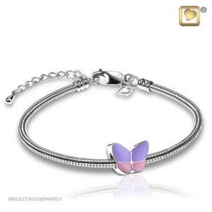 Treasure Lavender Wings of Hope Bead