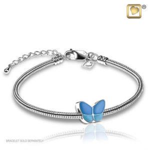 Treasure Blue Wings of Hope Bead