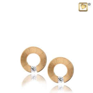 Omega (Gold) Earring
