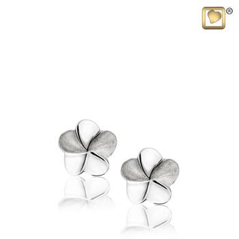 Bloom (Silver-Two Tone) Earring