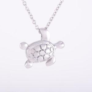 Turtle Ash Pendant (chain included)