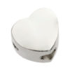 Plain Heart Tribute Bead - 925 SS
