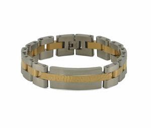 Cable Link Bracelet (Pewter)