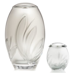 Silver Bloom Urn