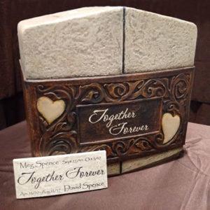 Together forever companion urn