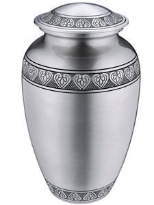 Classic pewter large urn