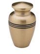 Radiance gold keepsake urn