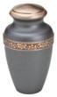 floral band keepsake urn