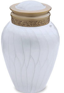 Blessings pearl medium urn