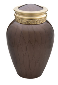 medium blessing bronze urn