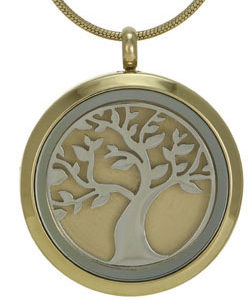 Tree (bronze with two inserts)