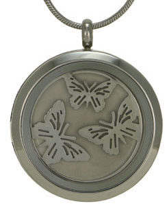 Butterflies (pewter with two inserts)