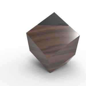 Woodprint Urn Modurn